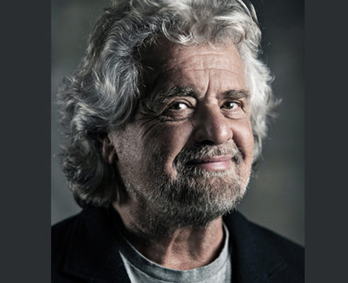 BEPPE GRILLO in Terrapiattista